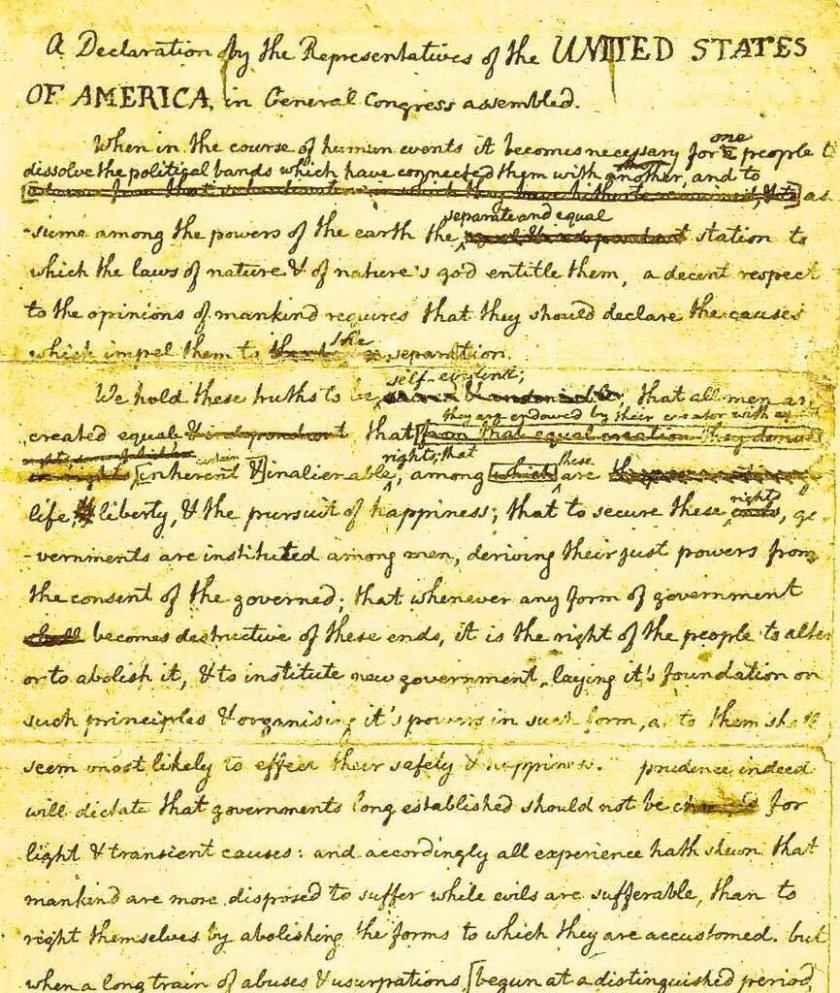 Independance draft