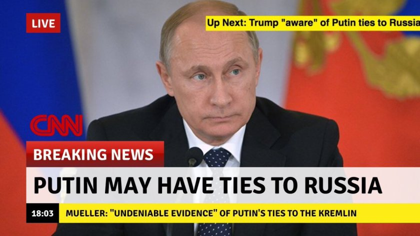 Putin connection to Russia