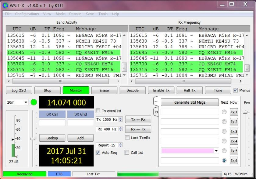 FT8 Screen-2
