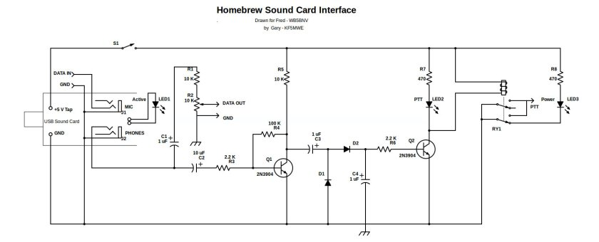 Home Brew Deluxe Sound Card Interface-Rev2-3